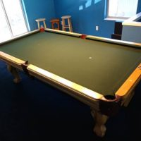 Pool Table ,Light ,Pool Cue holder 8ft
