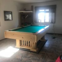 New 7 ft Pine Pool Table