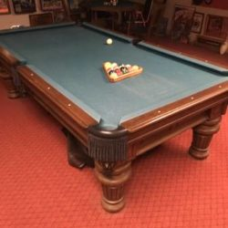 Golden West Pool Table (SOLD)